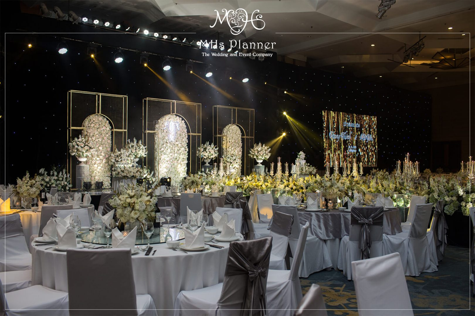 Melia Hanoi – Grand Ballroom | Concept: Modern Vibe